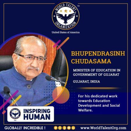 1. Bhupendrasinh Chudasama